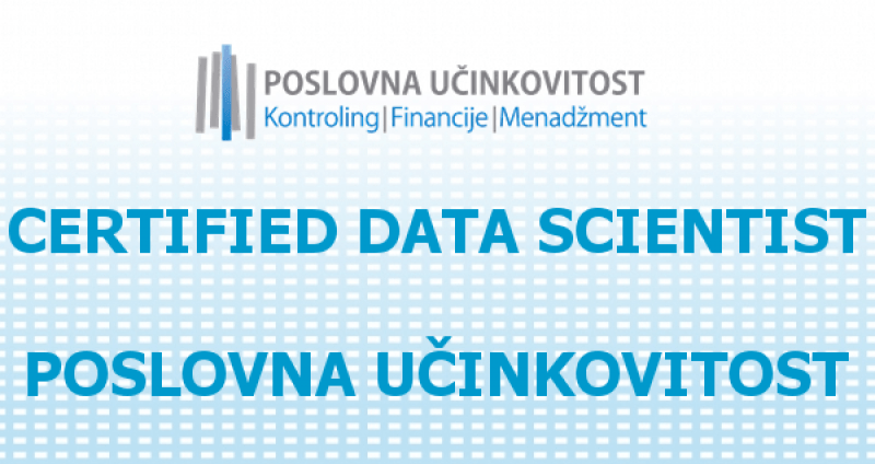 Certified Data Scientist