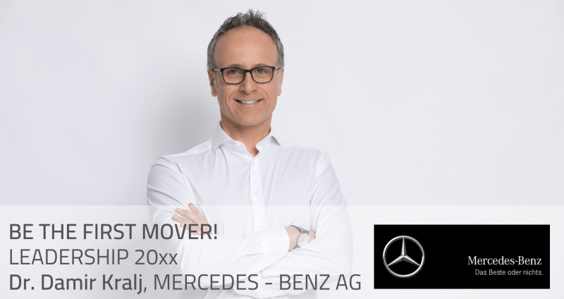 [Interview] BE THE FIRST MOVER! LEADERSHIP 20XX, Dr. Damir Kralj, MERCEDES-BENZ AG