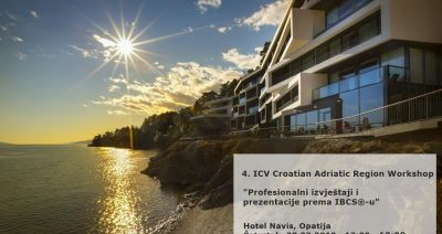 4. ICV Croatian Adriatic Region Workshop