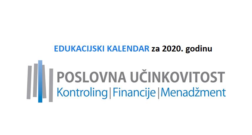 [EDUKACIJSKI KALENDAR] za 2020. godinu