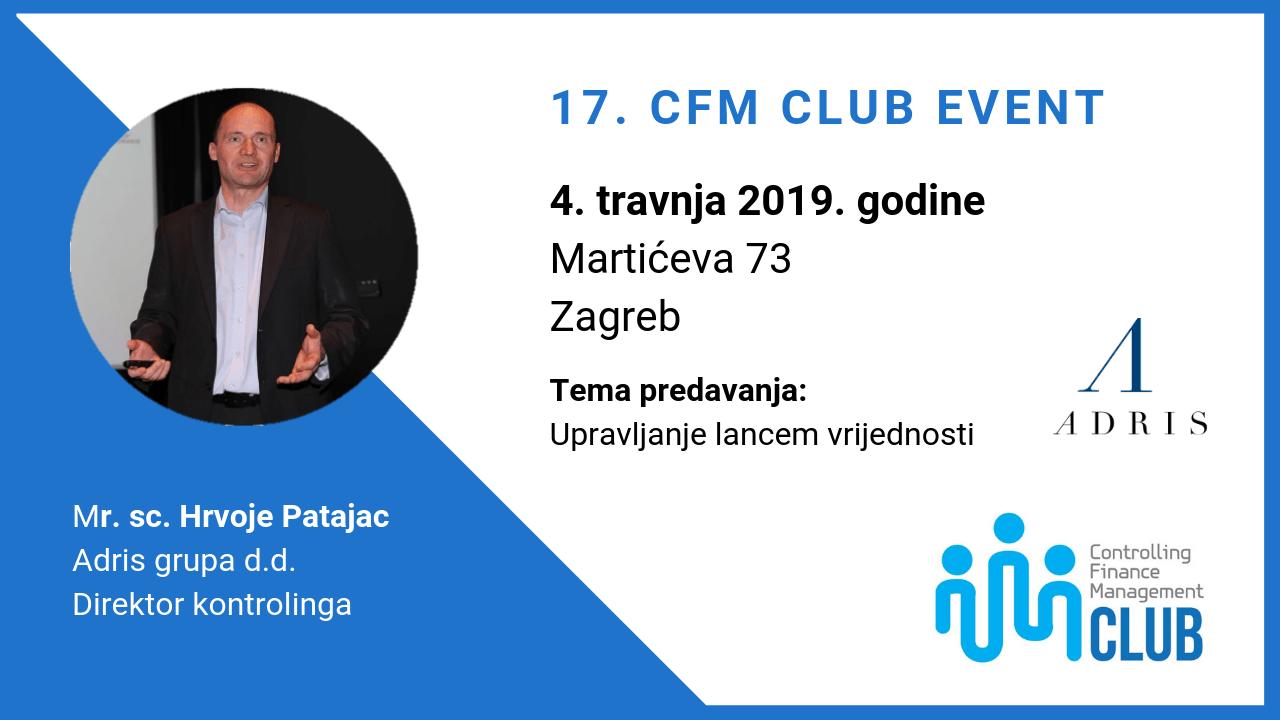 17. CFM Club Event