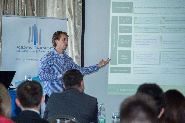 Luka Šomen, GIS Controller, Heineken International