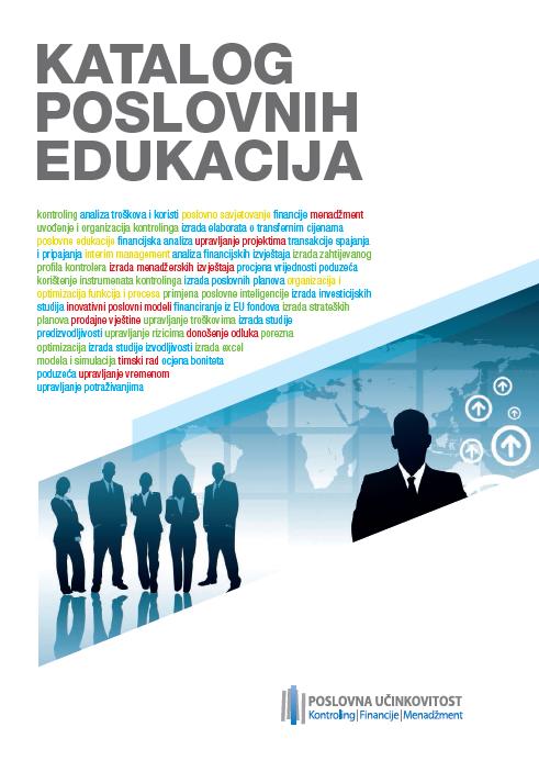 Katalog poslovnih edukacija - naslovnica