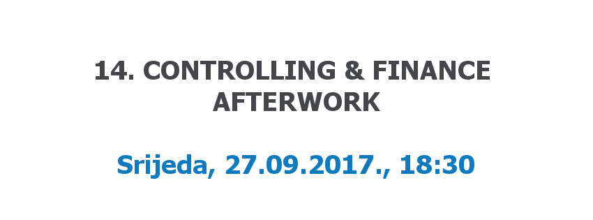 14. Controlling & Finance Afterwork