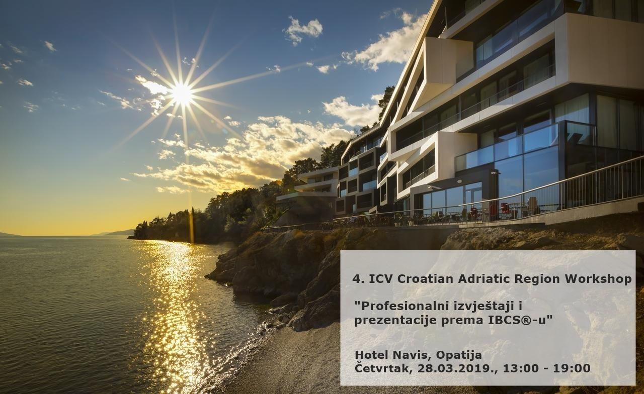 4. ICV Croatian Adriatic Region Workshop
