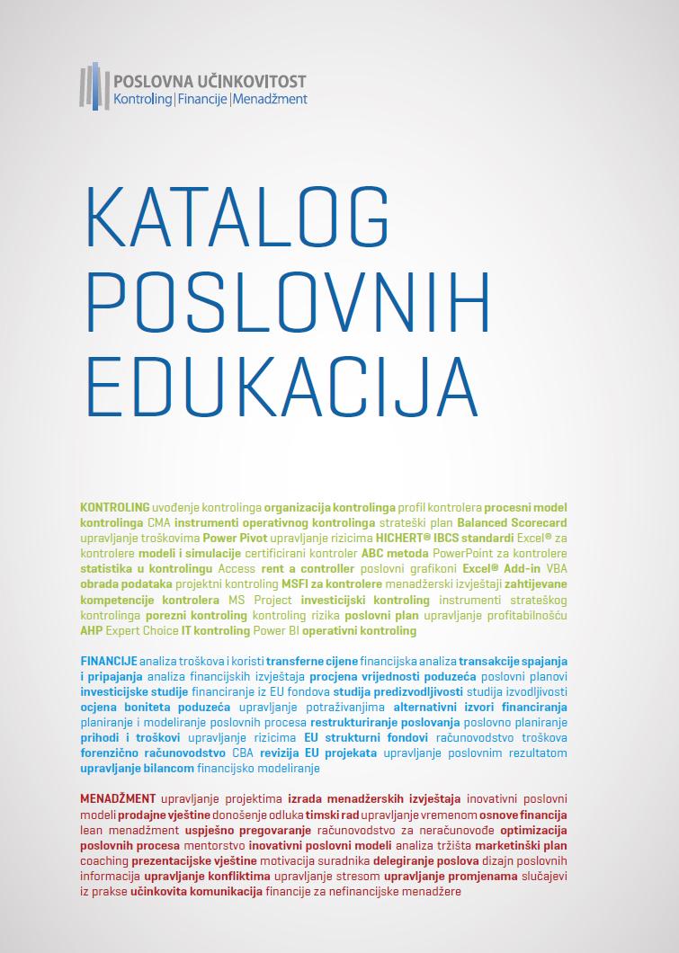 Katalog poslovnih edukacija